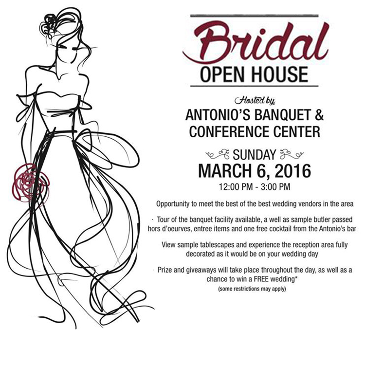 Antonios Bridal Open House