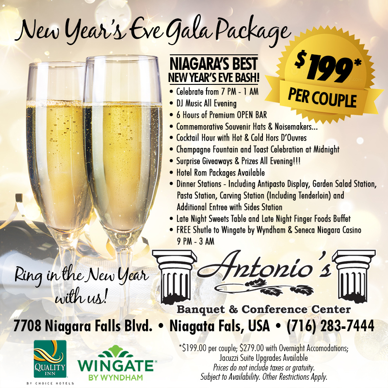 Antonios New Years Eve Gala